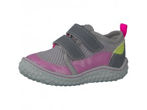 Celoroční bota Ricosta 17202-171 Peppi grau/neon pink