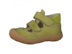Sandálky Ricosta Edo lime 12231-531