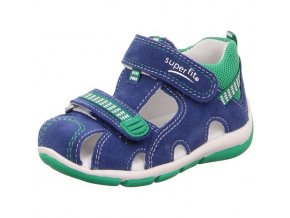 Sandálky Superfit Freddy Blue 4-00140-82
