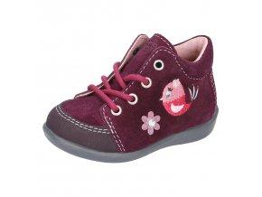Celoroční bota Ricosta 18214-382 Prisja Merlot