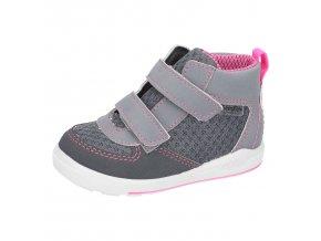 Celoroční bota Ricosta 24211-492 Rory Grigio/neonpink