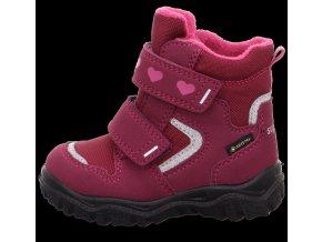 Zimní obuv Superfit Husky1 red/pink 1-000045-5010