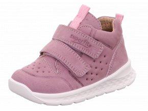 Celoroční obuv Superfit Breeze Lila/rosa 1-000363-8500