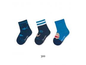 Ponožky Sterntaler 3 páry Námořník 8322121