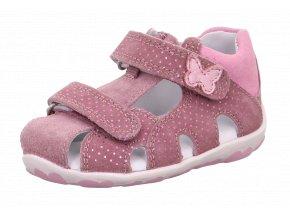 Sandálky Superfit Fanni lila/rosa 0-609041-9000