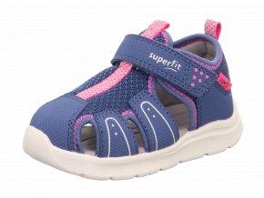 Sandálky Superfit Wave blau/rosa 1-000478-8020