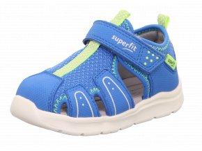 Sandálky Superfit Wave blau/gelb 1-000478-8010