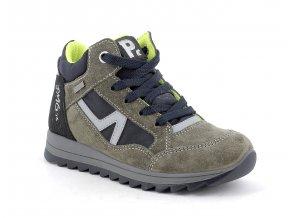 Celoroční bota Primigi 8374100 Trilly military green/blue