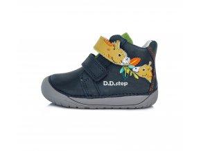 Celoroční bota DDstep S070-880 modrá