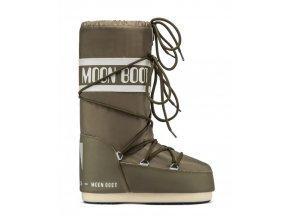 Zimní bota Moon boot Icon nylon khaki 14004400083