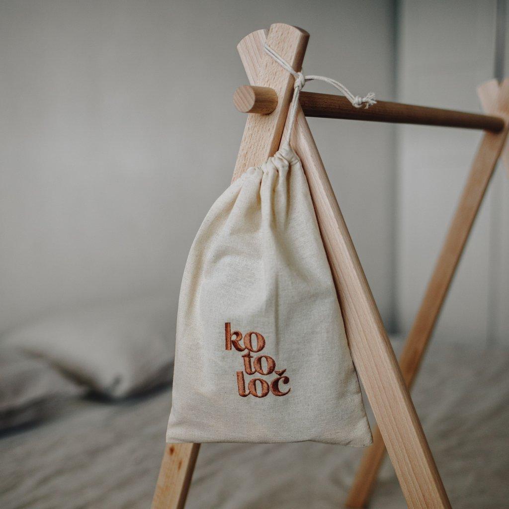 bavlněný pytlík na dětské poklady