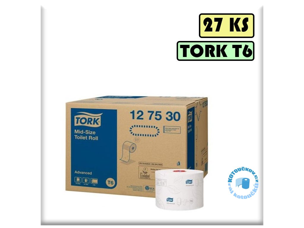 127530 tork T6 toaletni papir