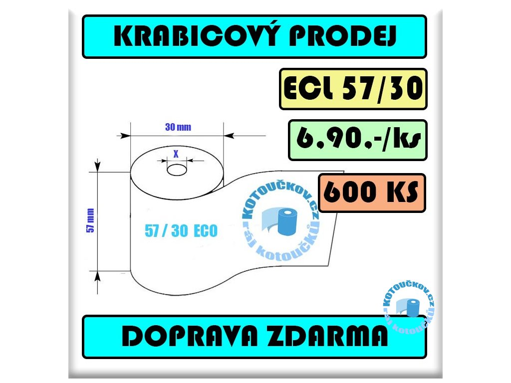 ECL Termo kotoucek 57 30 12