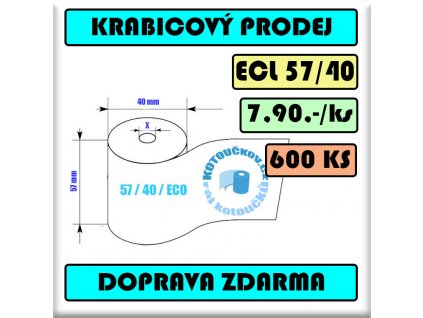 ECL Termo kotoucek 57 40 12