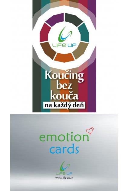 Set Koučing bez kouča na každý deň + emotion cards - 10% zlava