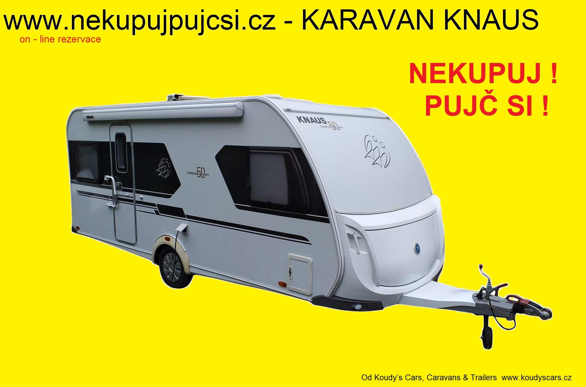 Půjč si karavan Knaus !