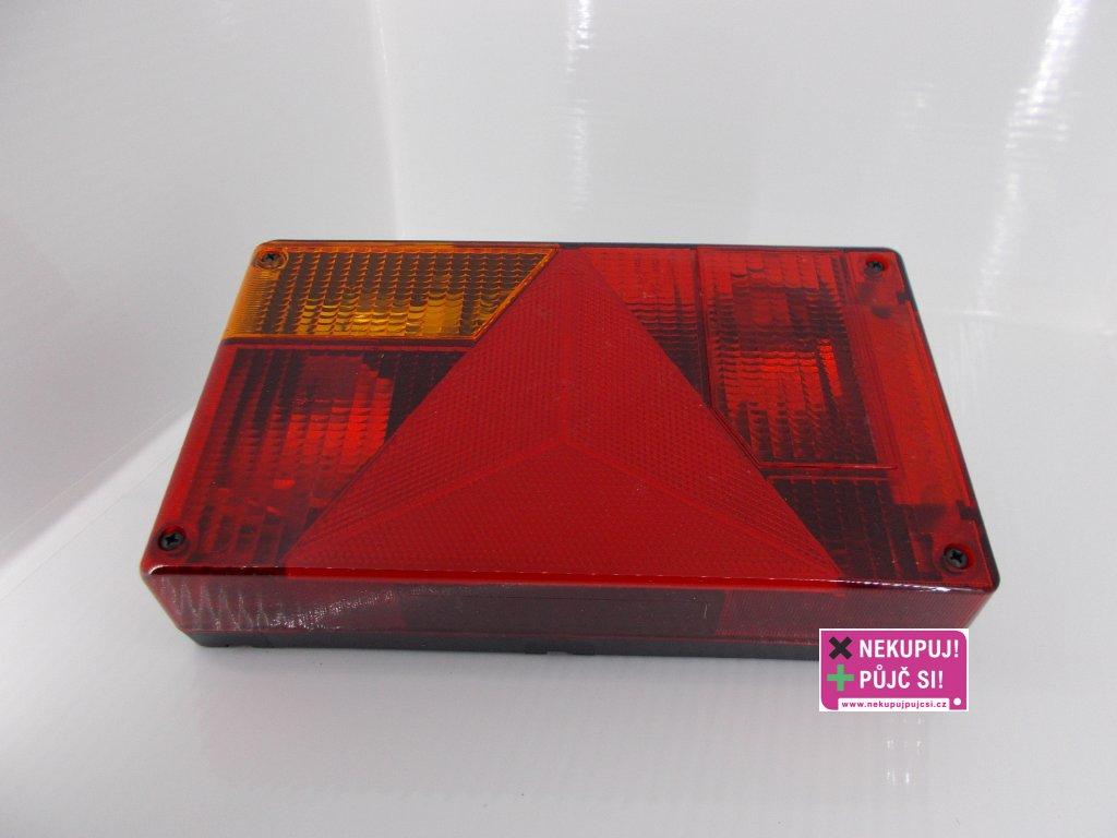 Svítilna koncová L - hranatá-osvětlení SPZ