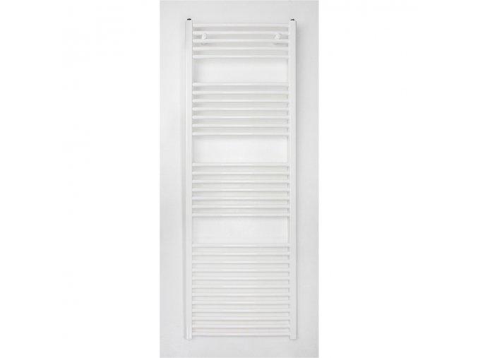 Koupelnový žebřík 1775x600mm bílý rovný