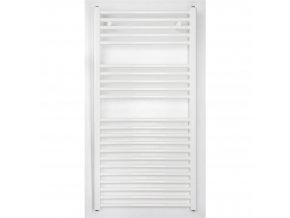 Koupelnový radiátor 1175x400mm bílý rovný