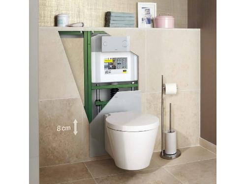Zazděné WC aneb předstěnové instalace - jak to funguje