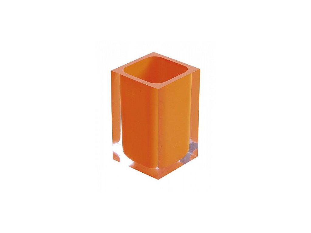 Sapho Rainbow RA9867 sklenka na postavení oranžová