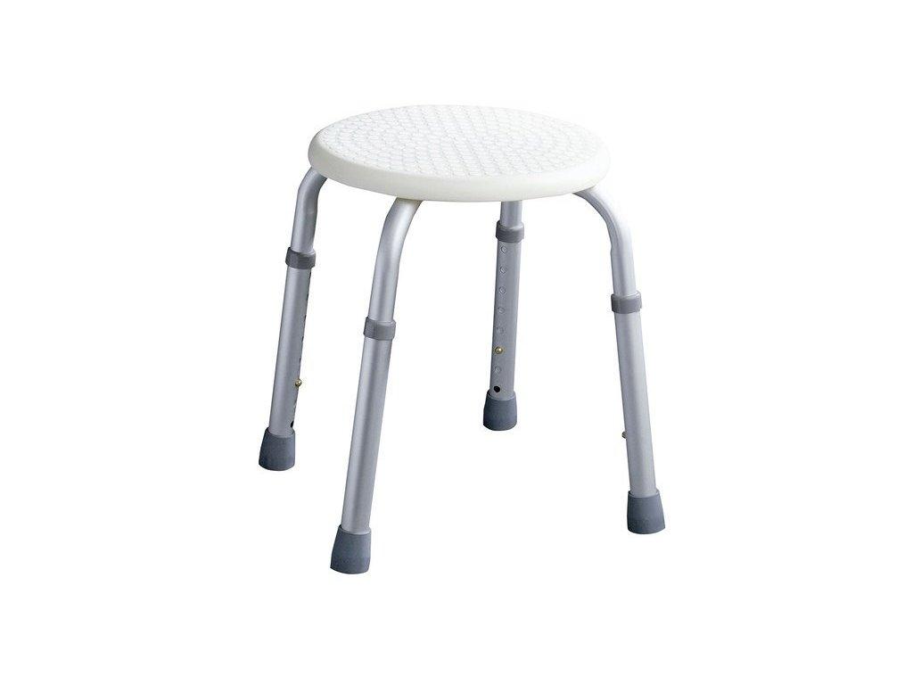 Sapho koupelnová stolička  O 32 cm A00603101 bílá