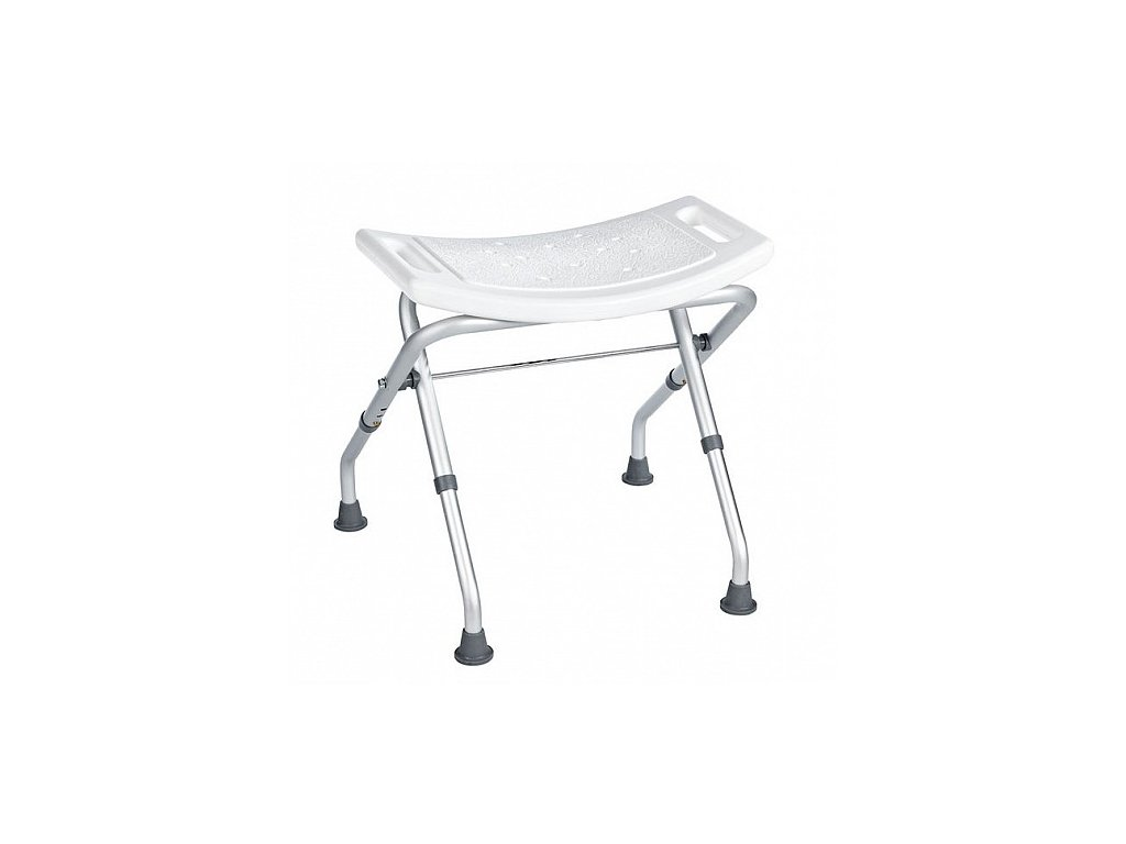 Sapho 50 x 31 cm stolička sklopná A0050301 bílá
