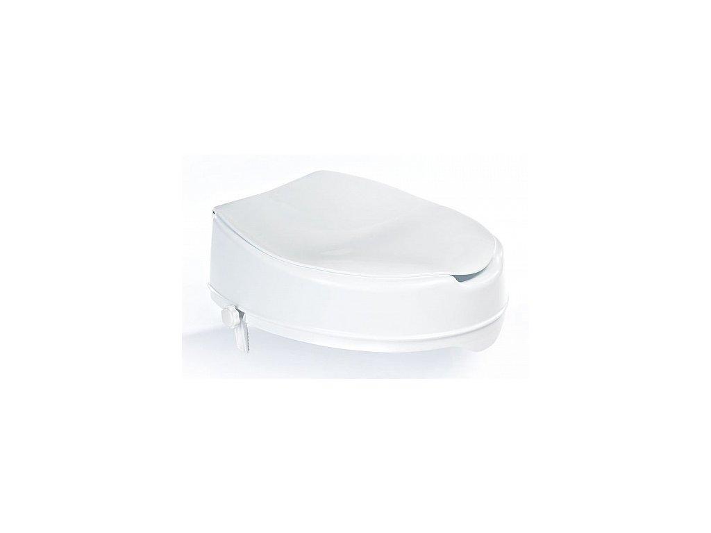 Sapho Nástavec na wc mísu A0071001 s víkem bílé
