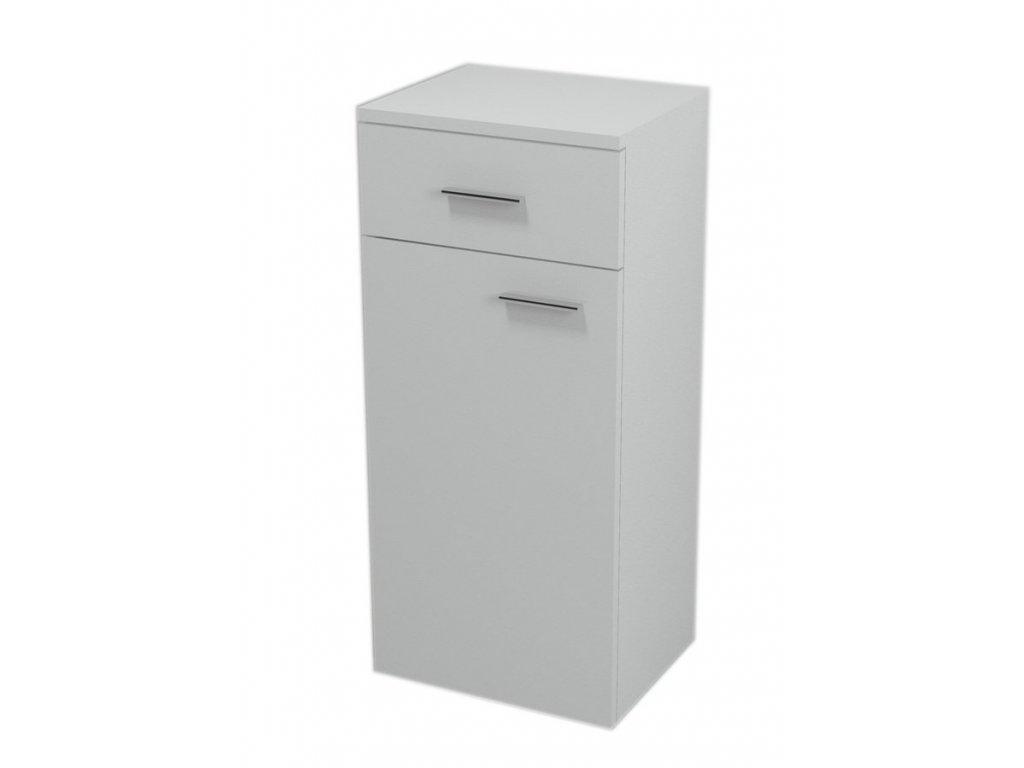 Aqualine Zoja / Keramia Fresh 51250 spodní skříňka 78 cm levá bílá