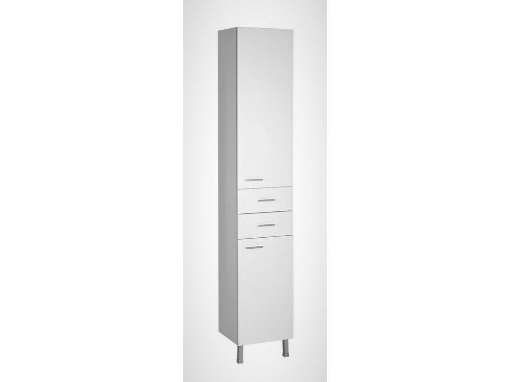 Aqualine ZOJA / KERAMIA FRESH 51220 vysoká skříňka 184 cm bílá