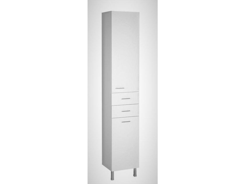 Aqualine ZOJA / KERAMIA FRESH 51230 vysoká skříňka 184 cm bílá