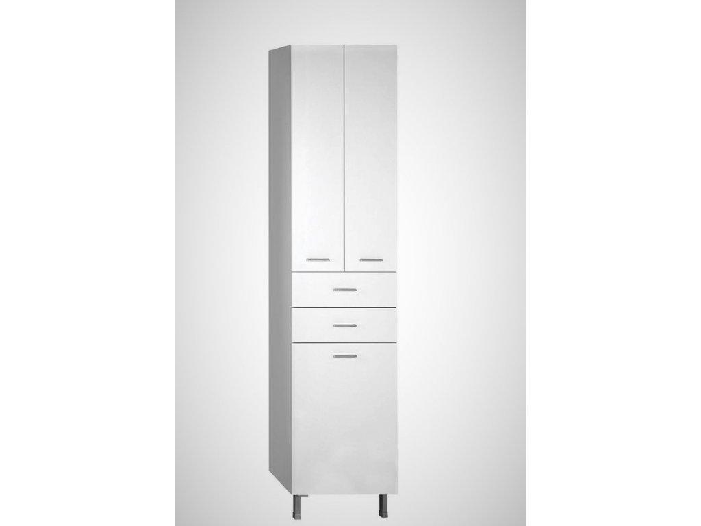 Aqualine ZOJA / KERAMIA FRESH 51293 vysoká skříňka 184 cm bílá
