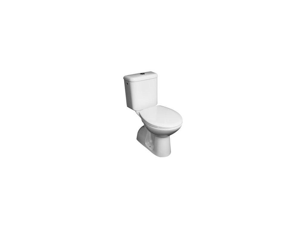 WC kombi 6139.3 vč. sedátka - zadní napojení