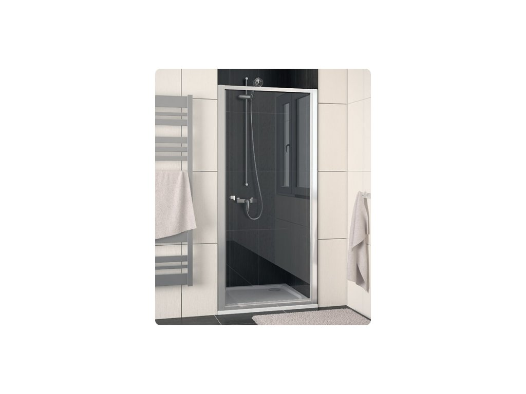 SanSwiss Ronal Eco-Line ECOP07000407 sprchové dveře sklo Transparent 70 x 190 cm