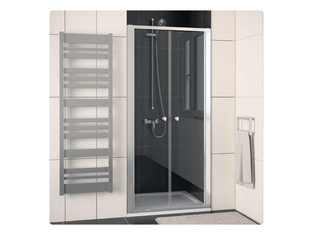 SanSwiss Ronal Eco-Line ECP207000407 sprchové dveře sklo Transparent 70 x 190 cm