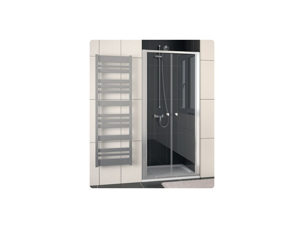 SanSwiss Ronal Eco-Line ECP210000107 sprchové dveře do niky 100 x 190 cm