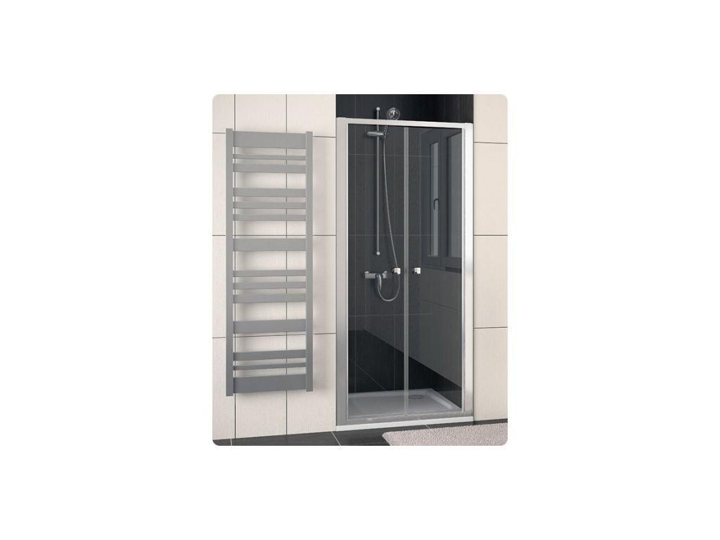 SanSwiss Ronal Eco-Line ECP210000107 sprchové dveře sklo Transparent 100 x 190 cm