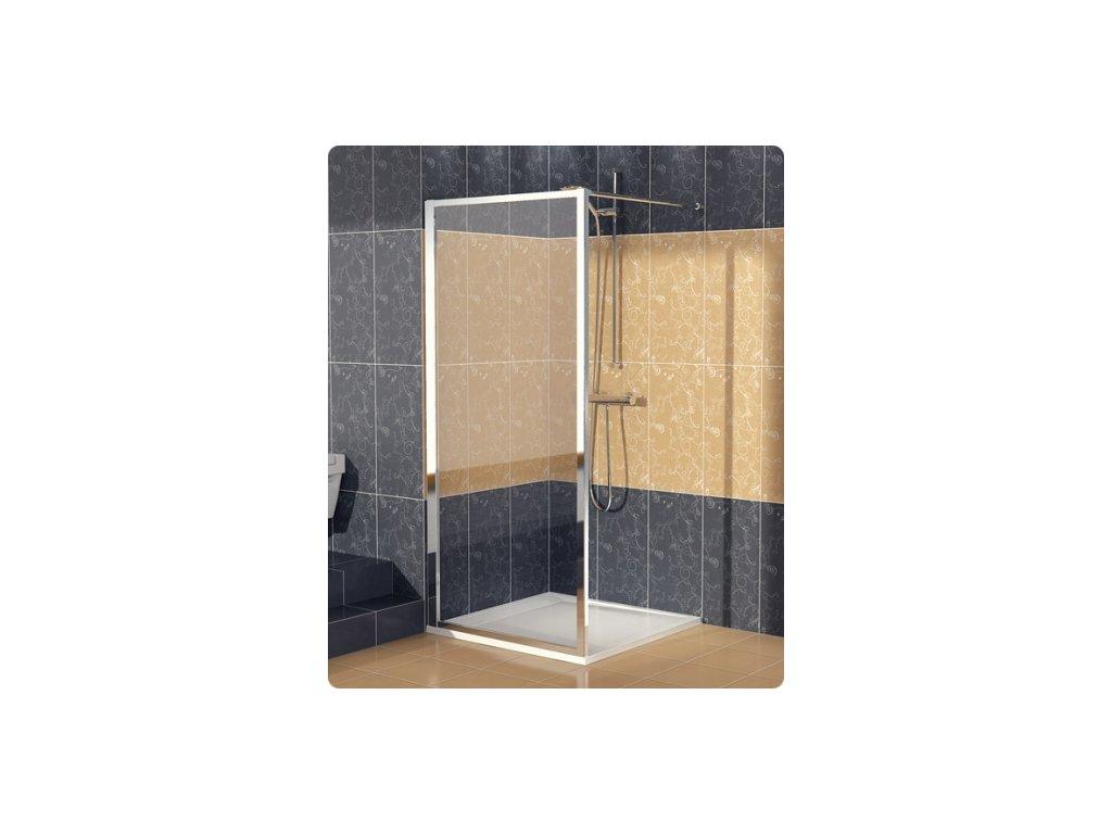 SanSwiss Ronal Eco-Line ECOF08000407 boční stěna 80 x 190 cm