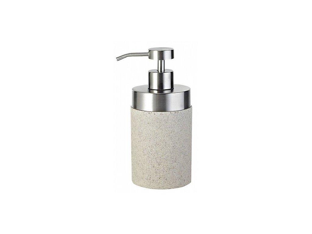 Sapho Stone 22010511 dávkovač mýdla na postavení béžový