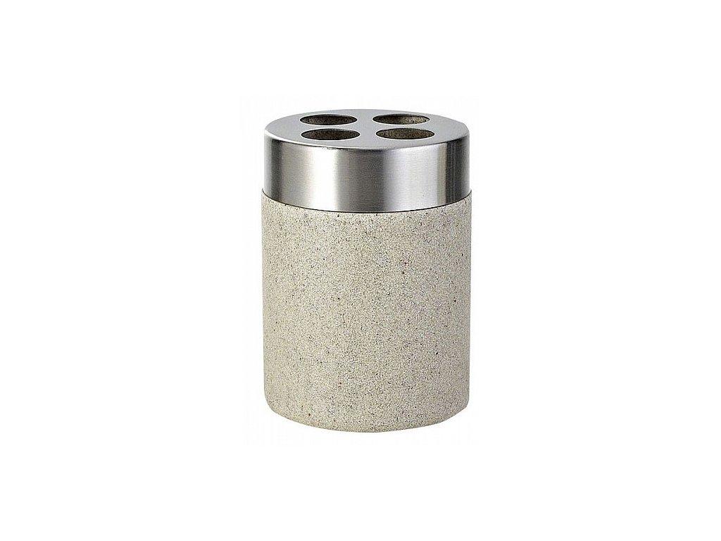 Sapho Stone 22010211 držák kartáčků na postavení béžový