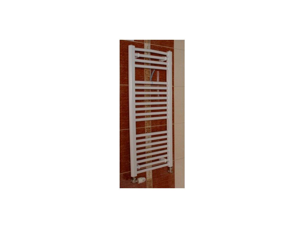Thermal Trend KD 600 x 1320 (1290) koupelnový radiátor K žebřík rovný
