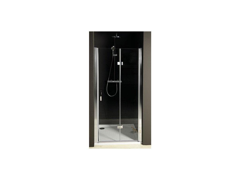 Gelco ONE sprchové dveře skládací 900mm, levé, čiré sklo ( GO7290L )