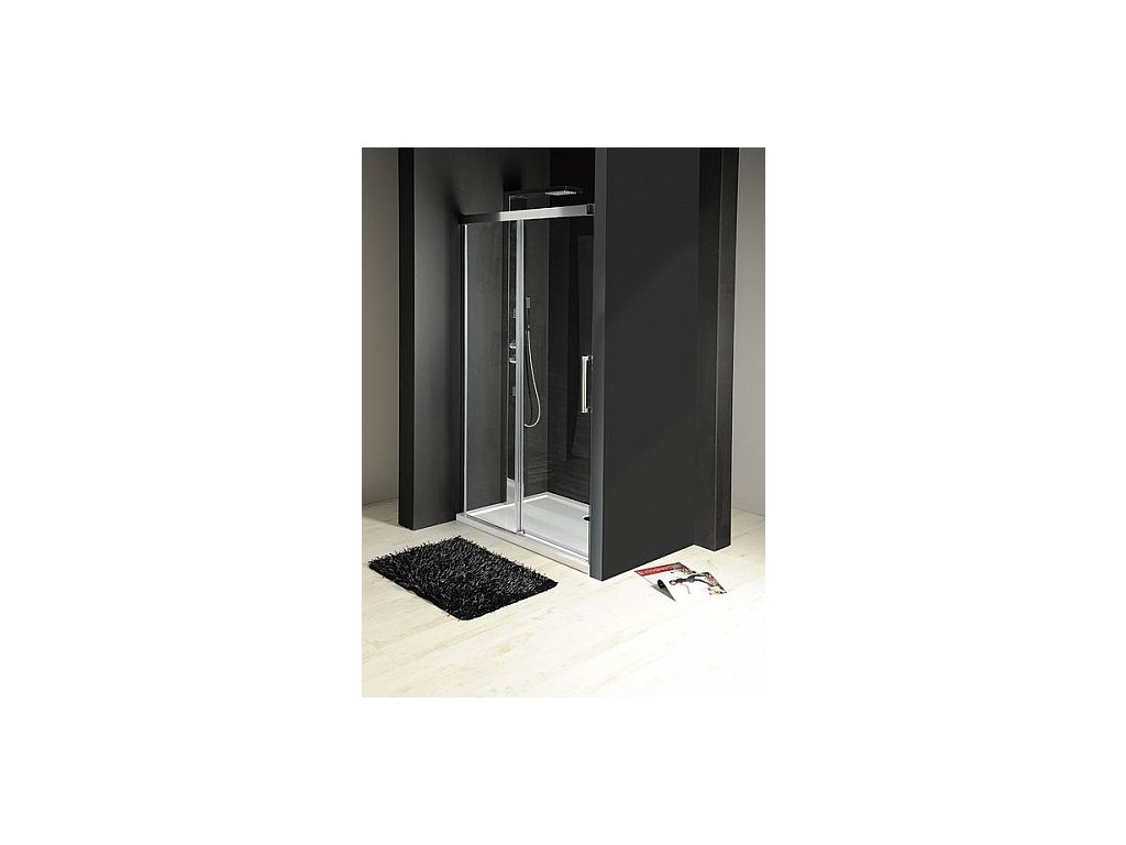 Gelco FONDURA sprchové dveře 1100mm, čiré sklo ( GF5011 )