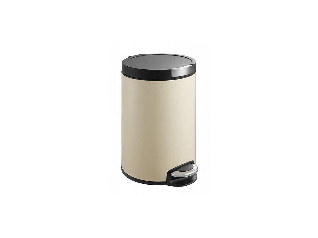 Sapho Artistic odpadkový koš 5 l DR155 soft close béžový