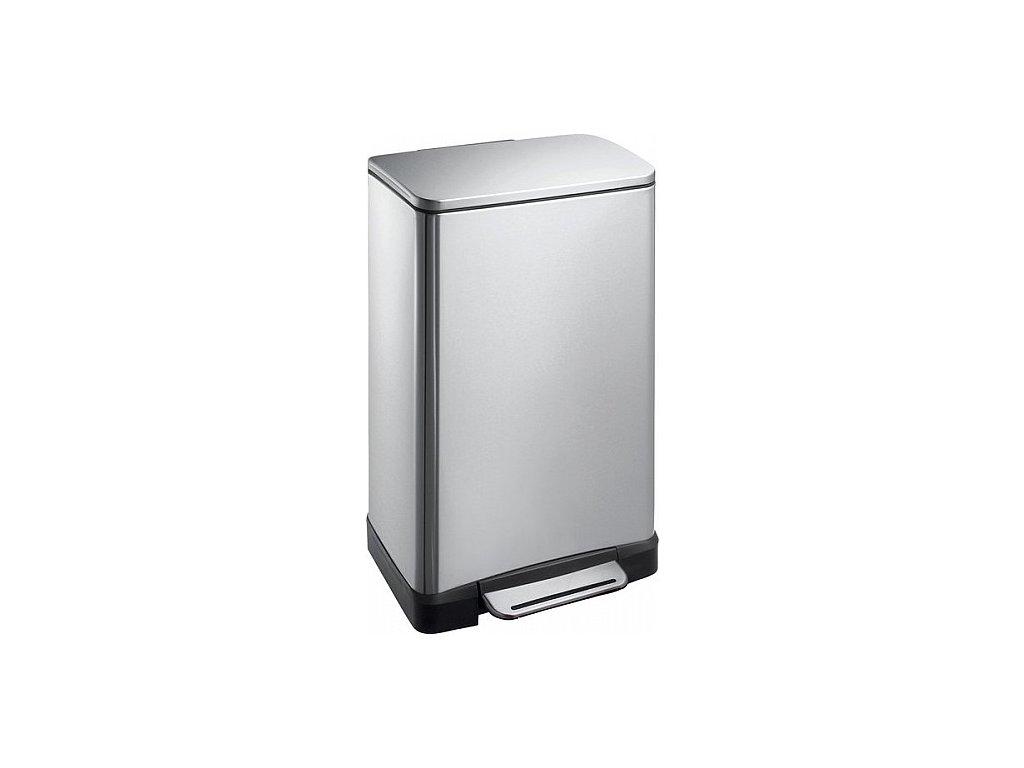 Sapho E-Bin odpadkový koš 30 l DR205 soft close nerez mat
