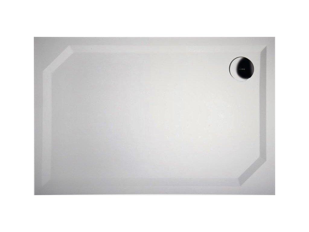 Gelco SARA 80 x 90 cm HS8090 sprchová vanička litý mramor