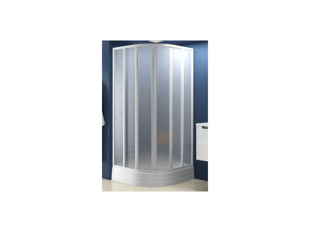 Ravak SKKP6 - 90 x 90 x 185 cm sprchový kout sklo