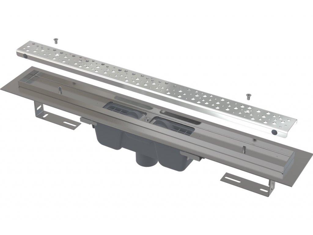Alcaplast APZ1011-750M Antivandal liniový podlahový žlab