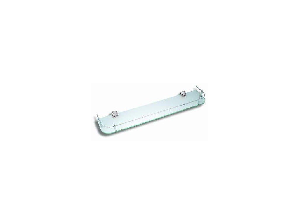 Novaservis Metalia 3  6353,0 polička zaoblená se zábradlím