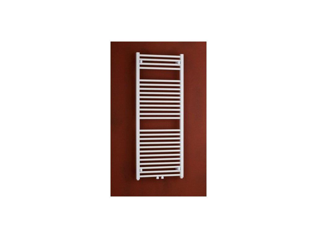 Thermal Trend KD 450 / 1320 koupelnový radiátor K žebřík rovný středové připojení